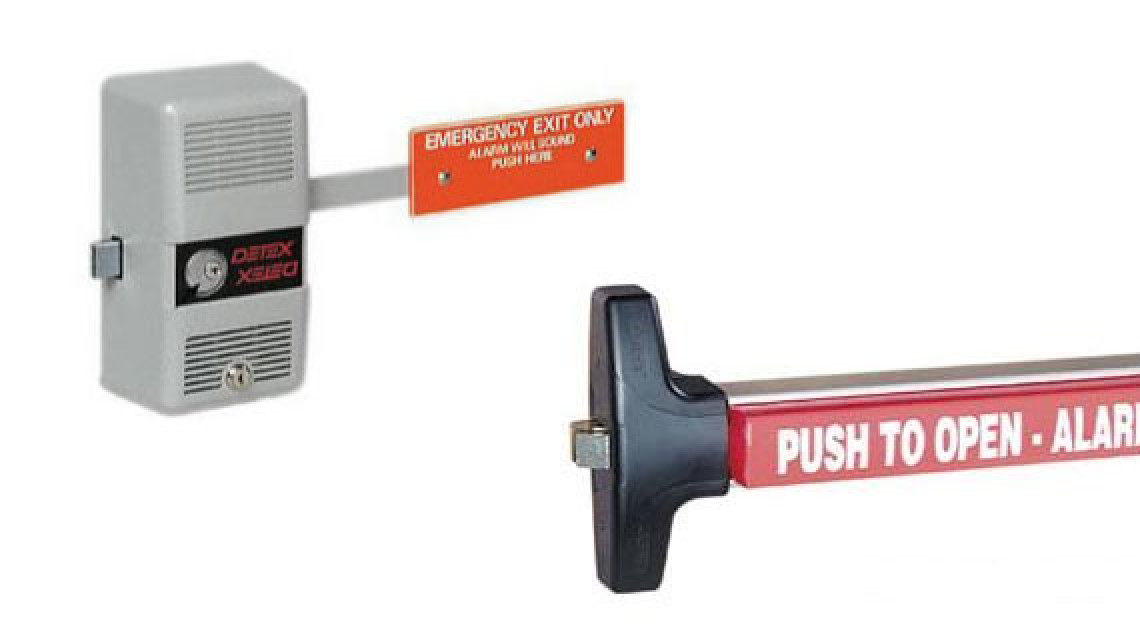 Panic Exit Device & Door Closer